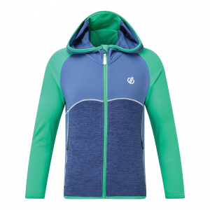 Regatta jacket Hasty Full jr polyester blue/green