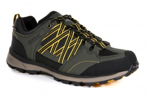 Regatta hiking Samaris Lowboots men's khaki/yellow