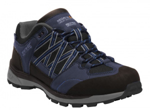 Regatta hiking boots Samaris Low mens black/blue