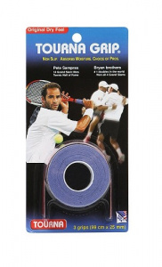 Tourna Grip overgrip tennis 25 mm synthetic blue 3 pieces