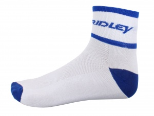 Ridley sports socks white with blue