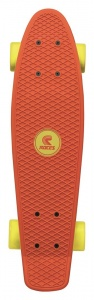 Roces Minicruiser MC1 skateboard oranje/geel 56cm