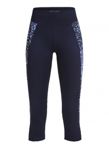 Röhnisch Dot Cire Cut sportlegging dames blauw