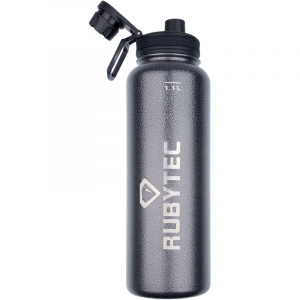 Rubytec drinking bottle 1Shira Cool.1 litre ABS/stainless steel anthracite