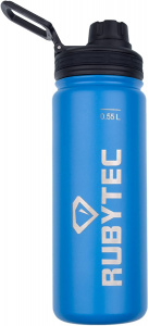 Rubytec drinking bottle Shira Cool550 ml ABS / stainless steel blue