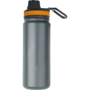 Rubytec drinkfles Shira Cool 550 ml ABS/RVS grijs
