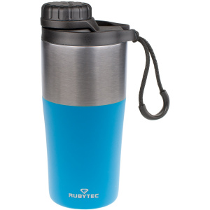 Rubytec insulating Bigshotbeaker 350 ml stainless steel blue