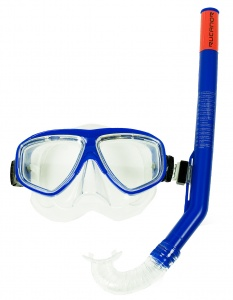 Rucanor snorkelset Ray junior blauw