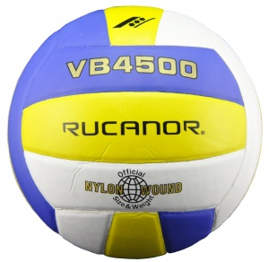 Rucanor volleybal VB4500 gel/blauw/wit maat 4