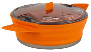 Sea to Summit campingpan X-Pot 1,4 liter 19 cm aluminium oranje