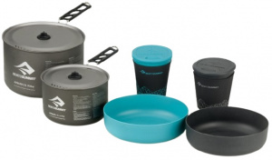 Sea to Summit kookset Alphapot Cookset 2.2 blauw/grijs 6-delig