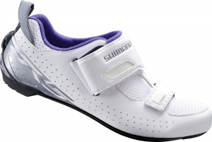 Shimano TR5triathlon cycling shoes ladies white/blue