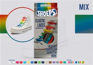 Shoeps Elastische veters Multicolor mix