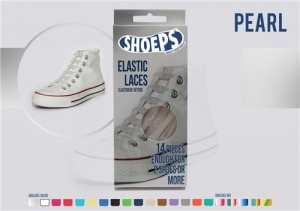 Shoeps Elastische veters pearl