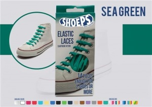 Shoeps Elastische veters sea green