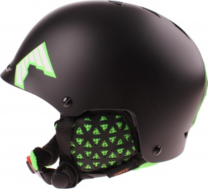 Shred skihelm Half Brain unisex zwart