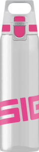 Sigg drinking Total Clear Onebottle ladies 750 ml transparent/pink