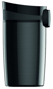 Sigg thermofles 300 ml 14,2 cm staal zwart