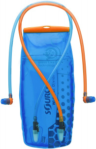 Source waterzak Widepac Divide 3 liter polyetheen blauw