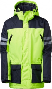 South West jacket Halifax black / yellow