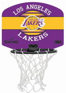 Spalding basketbalset Los Angeles Lakers 29 x 24 cm 4-delig