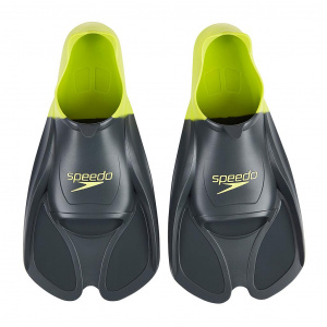 Speedo flippers Training silicone grey/lime