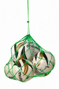Sportec Nylon carrying net 2/4 balls green