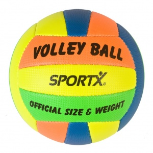 SportX volleybal multicolor 270-290 gr