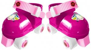 dfd4a59f32f Stamp rolschaatsen met bescherming Animals roze maat 23-27