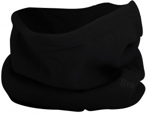 Starling Col Gelamineerd Fleece Senior Zwart One Size