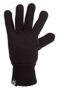 Starling Knitted gloves unisex black