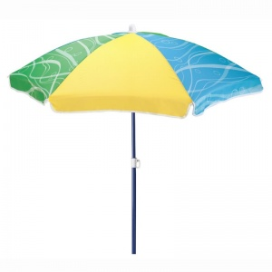 Step2 parasol Seaside 106,7 cm yellow/blue/green