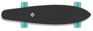 StreetSurfing longboard Kicktail Urban Rough 91 cm