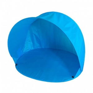 Summertime pop-up tente de plage 150 x 110 x 100 cm bleu