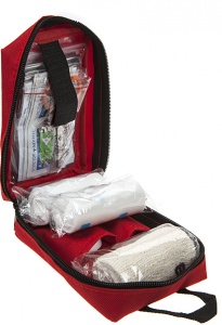 Summit first aid & survival kit 15 cm rood