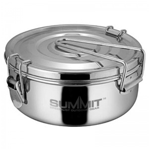 Summit pannenset RVS zilver 1500 ml 3-delig