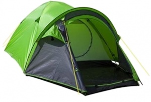 Summit Pinnacle Dome 3-persoons tent 210 x 210 x 130 cm groen