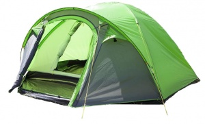 Summit Pinnacle Dome 4-persoons tent 270 x 210 x 140 cm groen