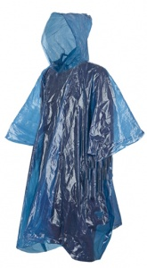 Summit poncho Adult Emergency unisex blauw one size