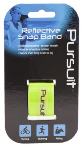 Summit reflectie-armband Pursuit geel