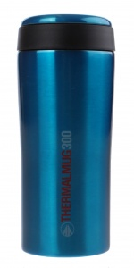 Summit thermosbeker met deksel blauw 300 ml