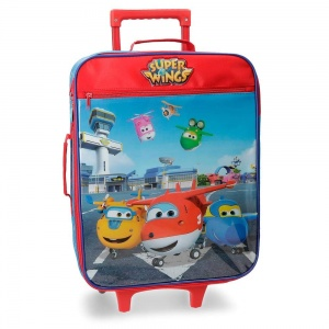 Super Wings trolley case 26 litres red/blue