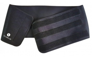 Sveltus sweatband belly black 100 cm
