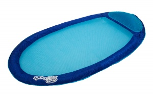 SwimWays luchtbed Spring Float Original 175 x 89 cm blauw