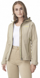 Tenson outdoor jacket Skagway XP ladies polyester light brown