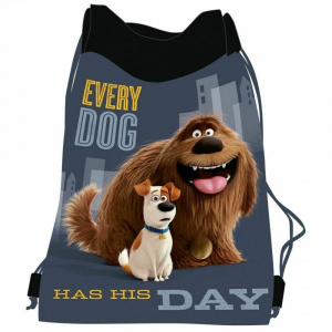 The Secret Life of Pets sac de sport Every Doggarçons 12 litres gris
