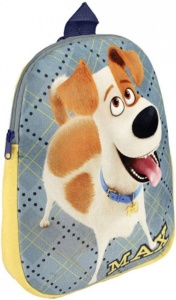 The Secret Life of Pets backpack - Max 4.3 litres blue/yellow