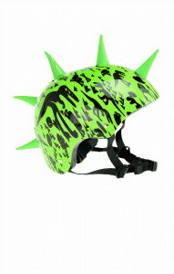 Toi-Toys bicycle helmet with spikes Pro Sports junior 58-61 cm green