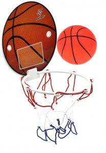 Toi-Toys mini basketball game 3-piece orange