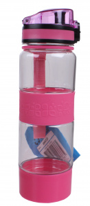 TOM drinkfles 500 ml 22,5 cm roze